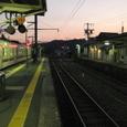 飯田線夕景